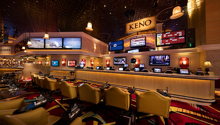 Amerikaanse Casino's kennen hele Keno secties