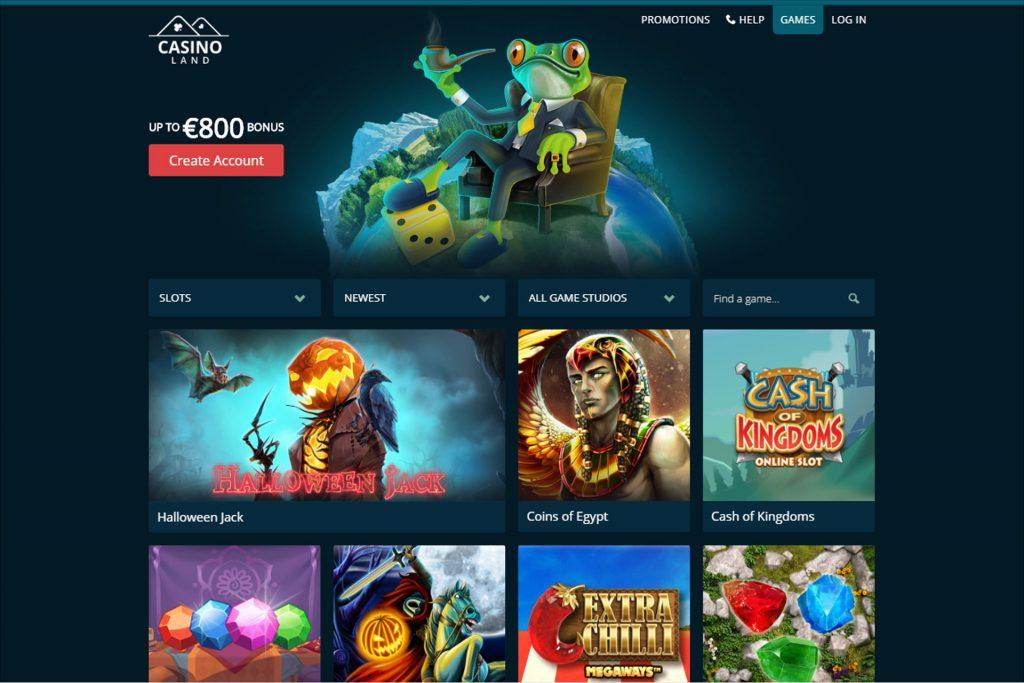 Casinoland Website