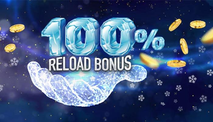 Er zijn casino's die 100% reload bonus geven
