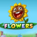 Monsterspins op Flowers van Netent