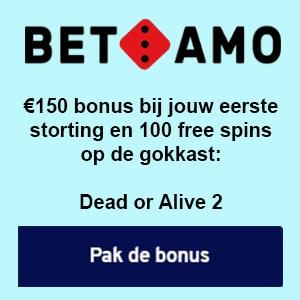 BetAmo Bonus aanbieding 2