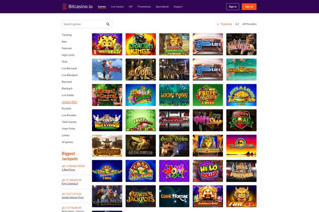 BitCasino Live Casino