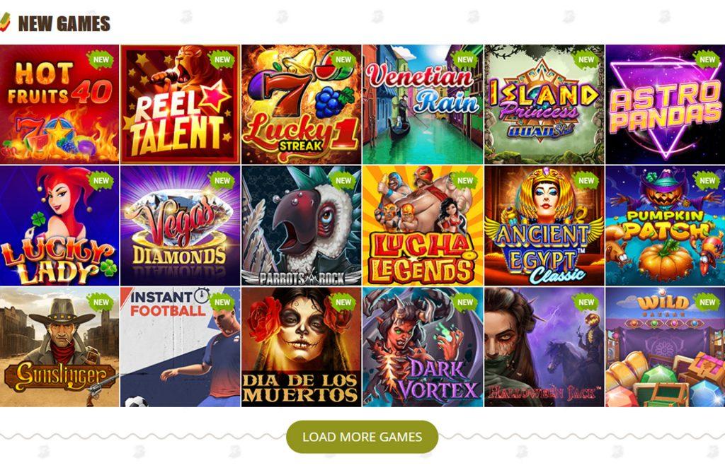 BobCasino Games