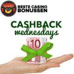 Klaver Casino cashback bonus