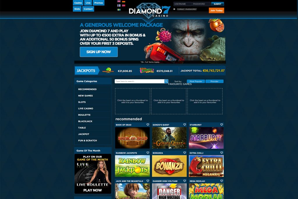 Diamond 7 Casino