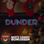 dunder casino kerstbonus