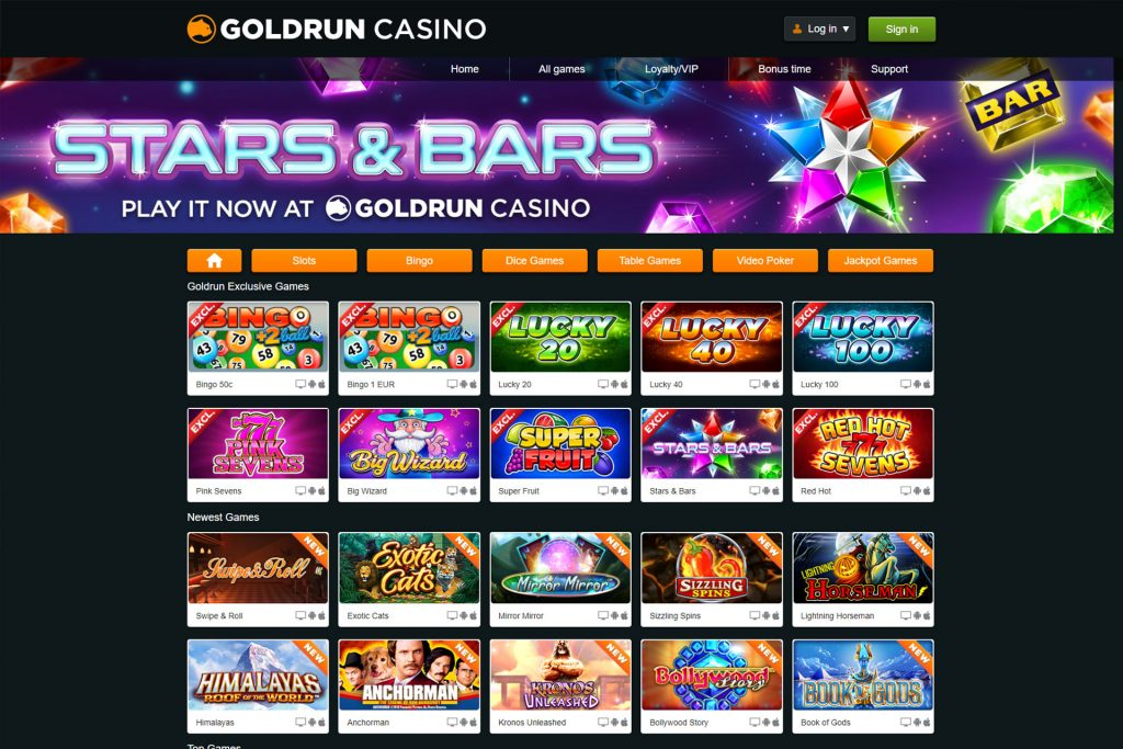 Goldrun Casino Review