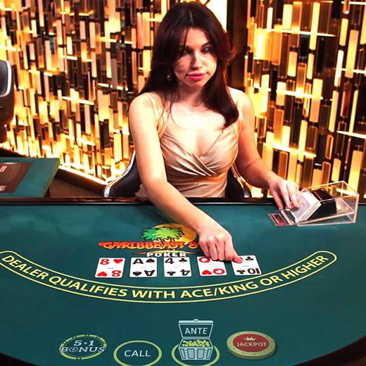 Gratis Caribbean Stud Poker