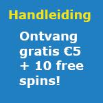 €5 gratis en 10 free spins Eskimo Casino