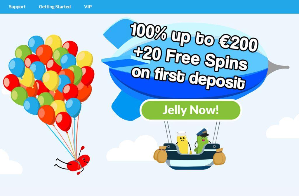 Jellybean Casino Bonus