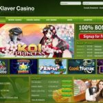 Klaver Casino weekend bonus