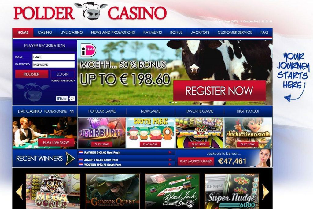 Polder Casino home