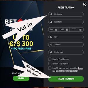 Registration Betamo 2