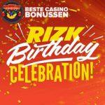 Rizk Casino verjaardagsbonus