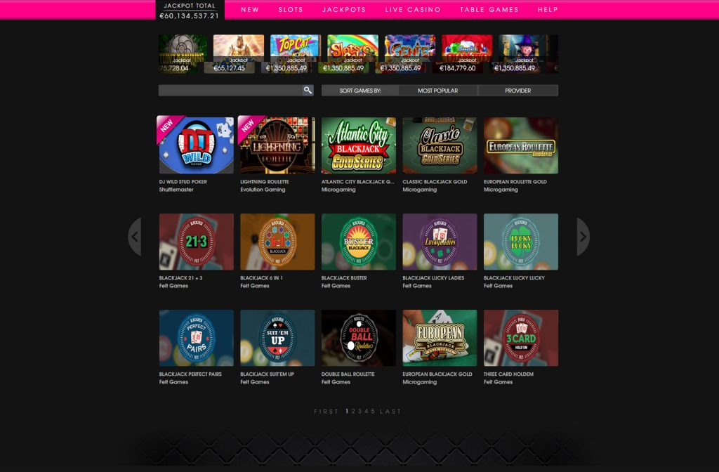 Screenshot Playgrand Casino