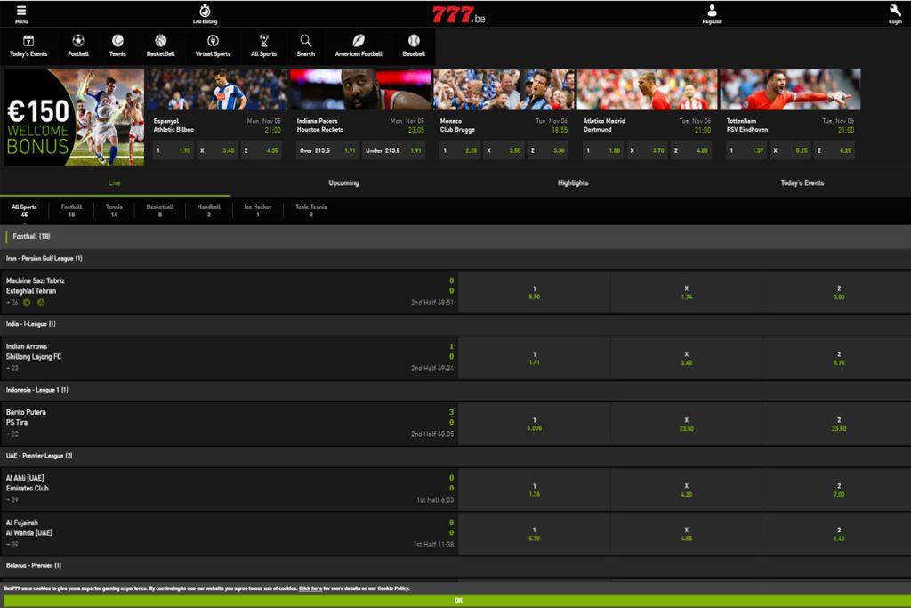Screenshot casino777