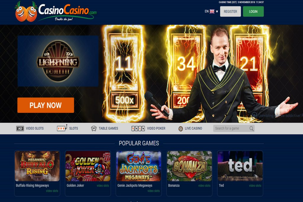Screenshot casinocasino.com