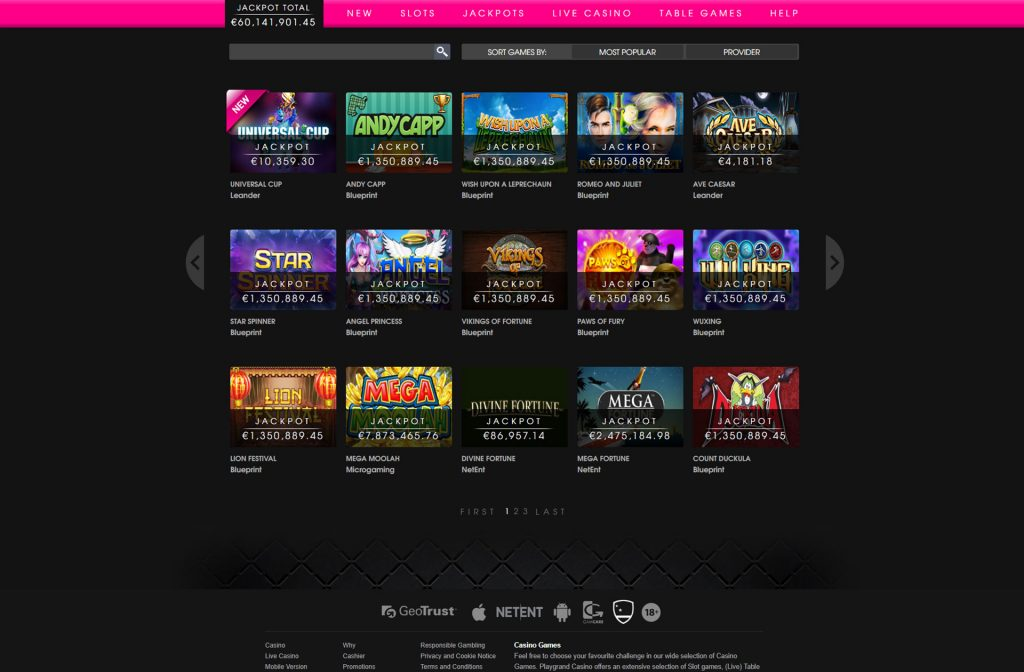 Slots PlayGrand Casino