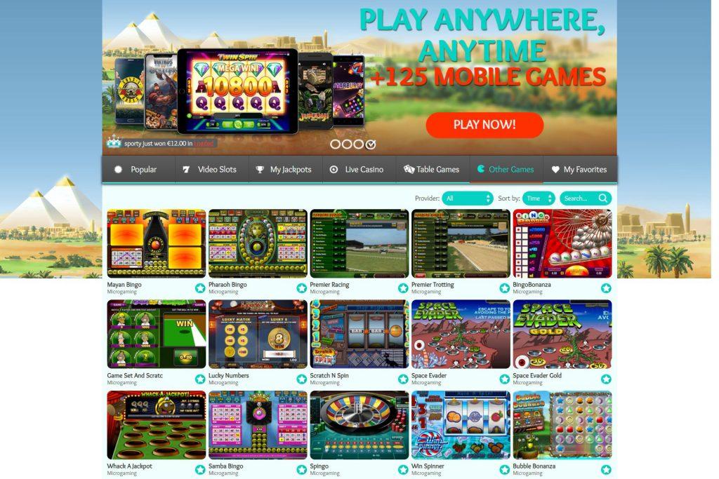 Welkomstbonus MyJackpot Casino