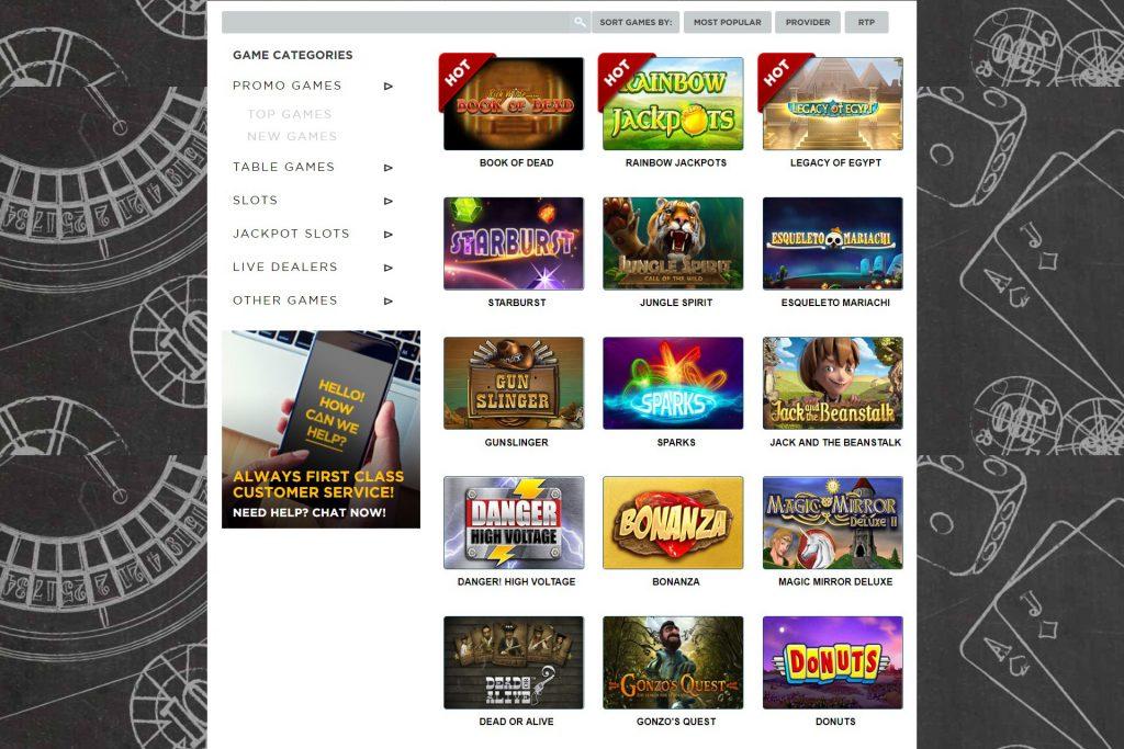 casinospellen twenty one casino