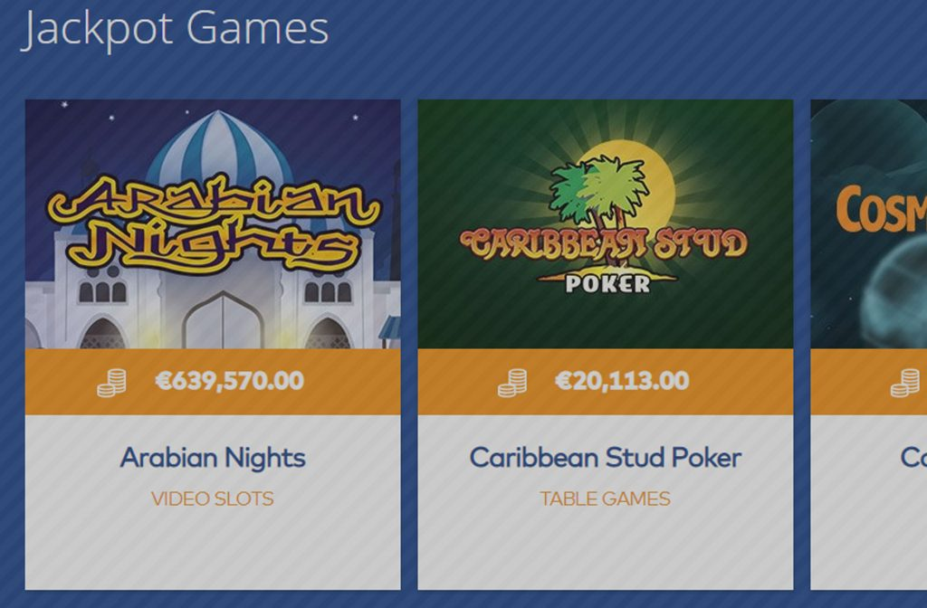 jackpot bij fortuin casino