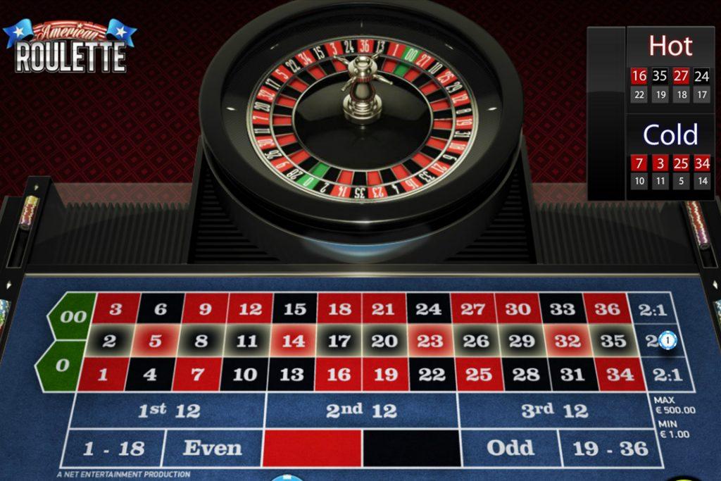 Amerikaans Roulette roulettetafel