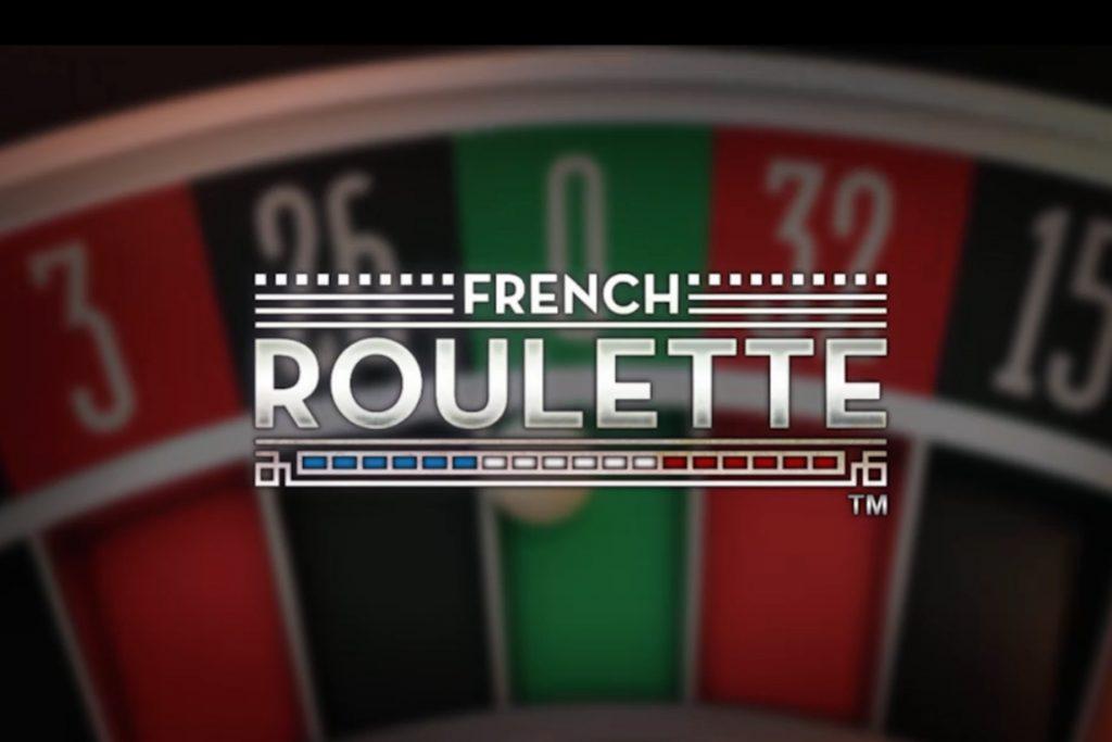 Franse roulette bij Netent