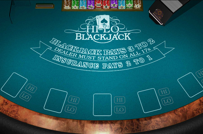 Multihand Hi-lo Blackjack