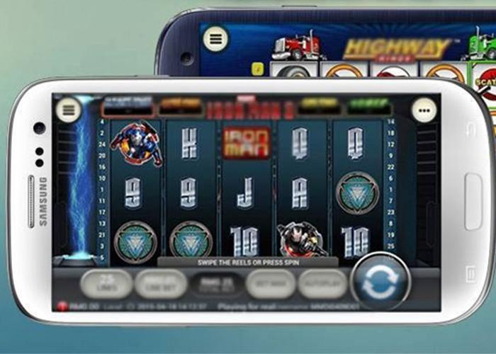 Online casino op je Samsung