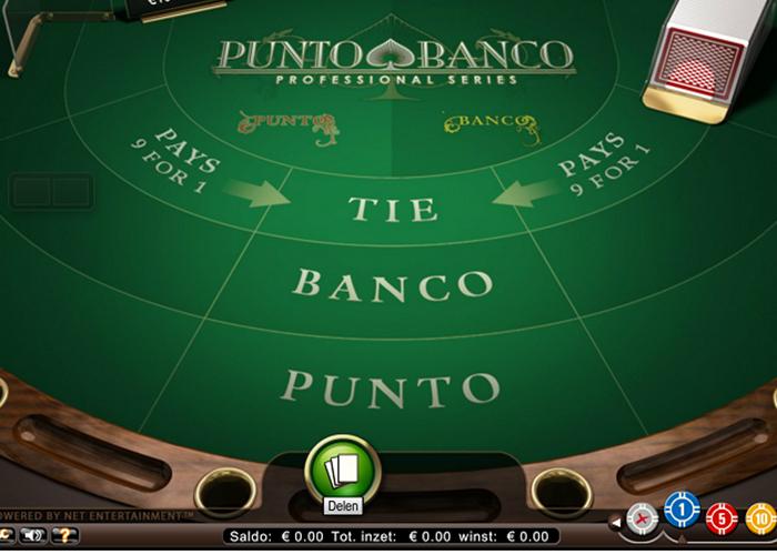 Punto Banco online spelen