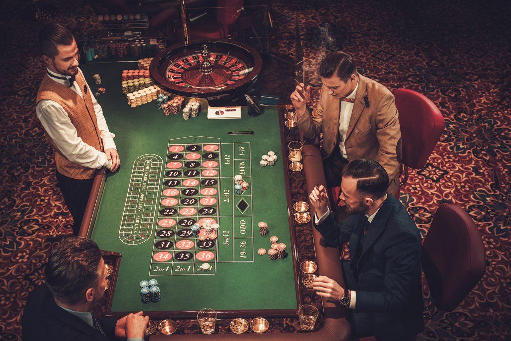 Roulette in een echt casino