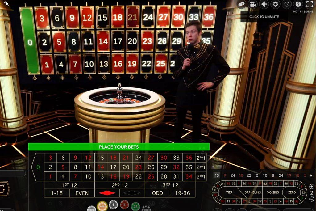 Speel Live Lightning Roulette