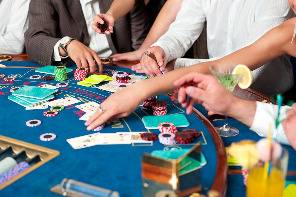 Speel live blackjack
