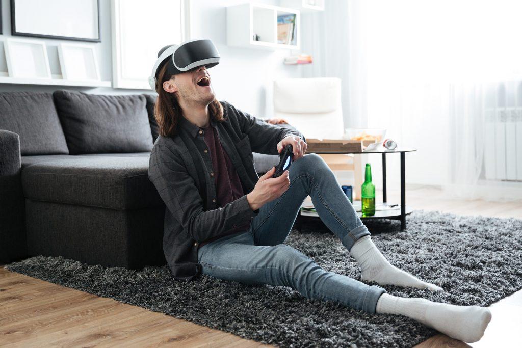 Virtual Reality is de toekomst van het online gokken