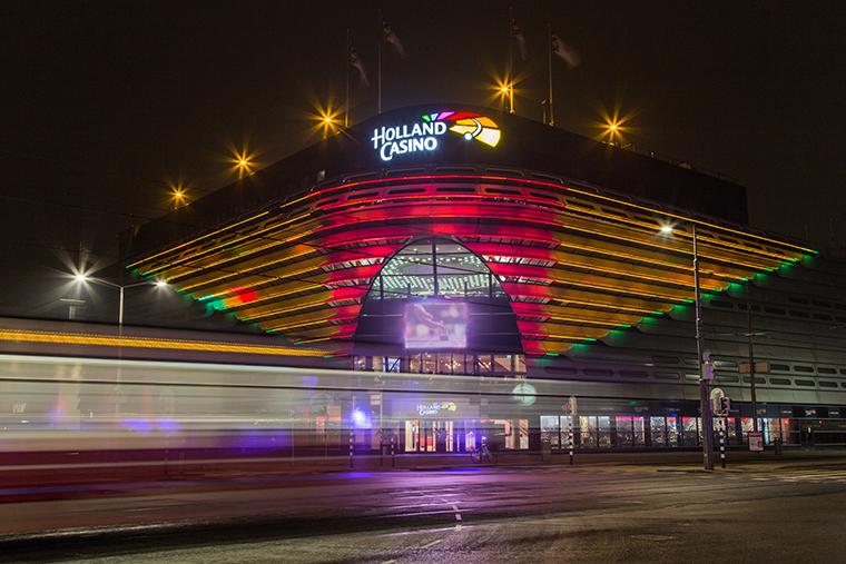 Holland Casino Scheveningen bij het mooie strand