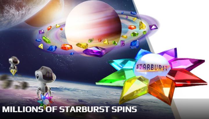 Aanbieding Starburst NetBet