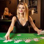 Blackjack bij een live casino