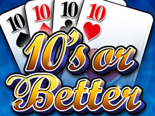 10's or Better video poker logo