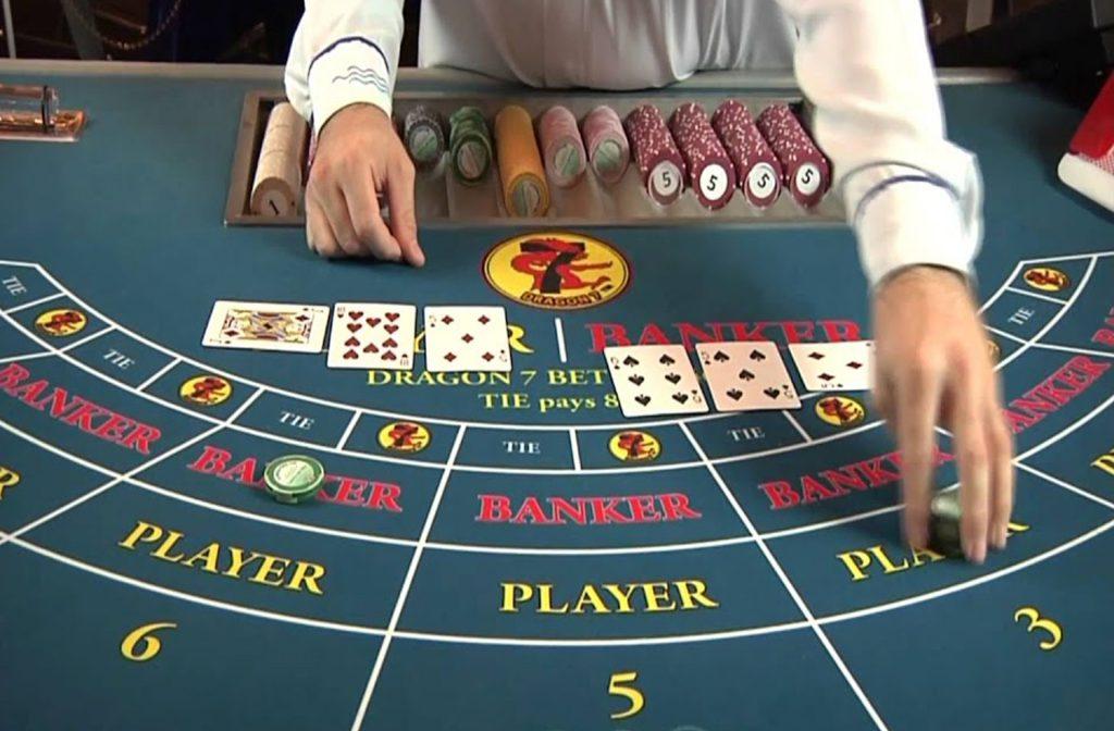 Baccarat in een landbased casino