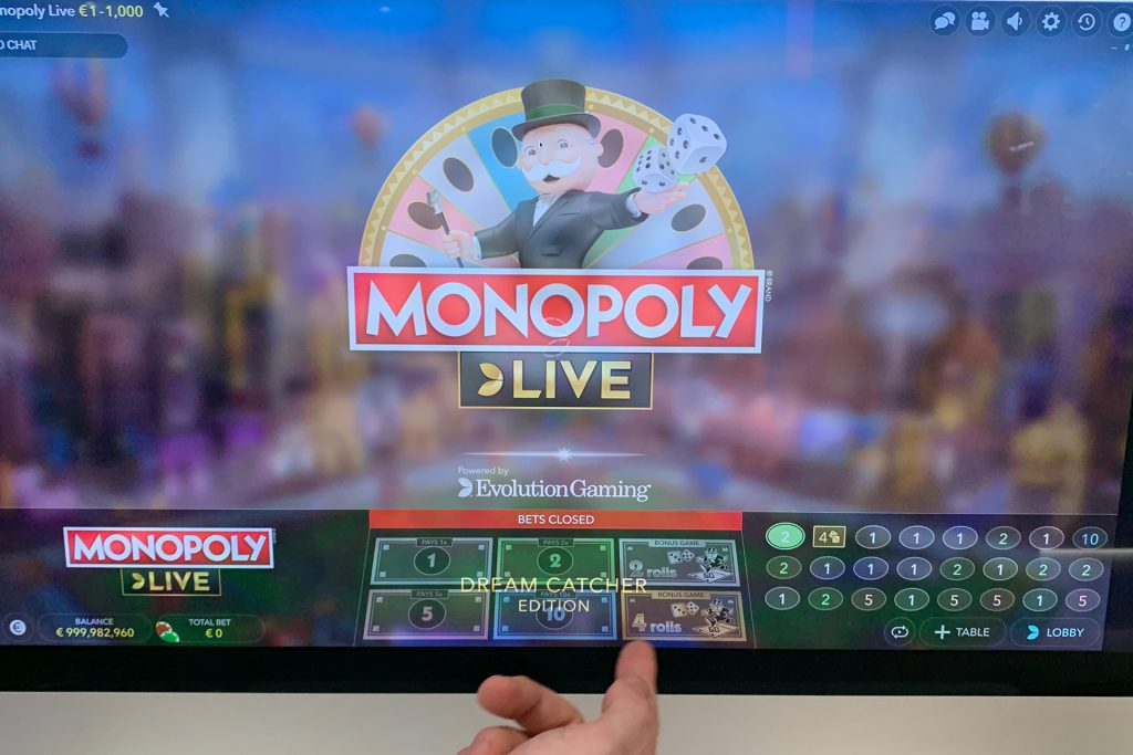 Monopoly Live - Dreamcatcher Edition