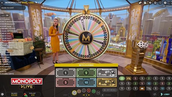 Monopoly Live Studio