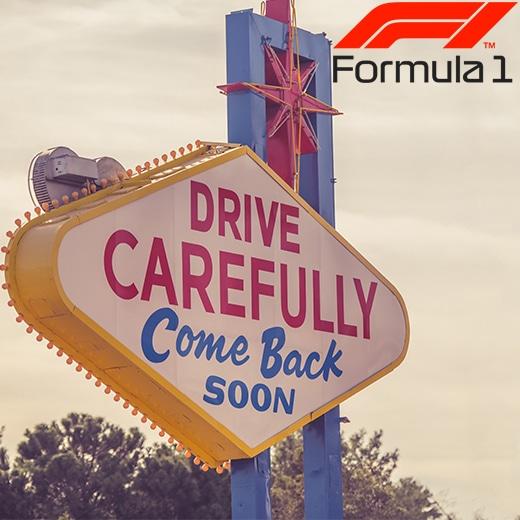 Las Vegas decor Formule 1