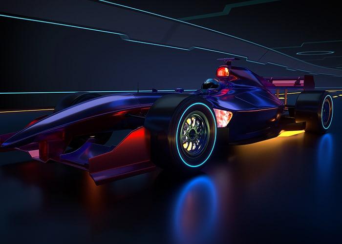 Formule 1 in Las Vegas style