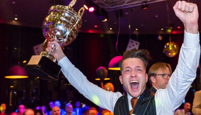 Jesse Jan wint titel Croupier van het Jaar