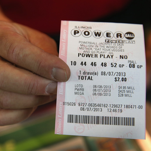 Powerball winnaar