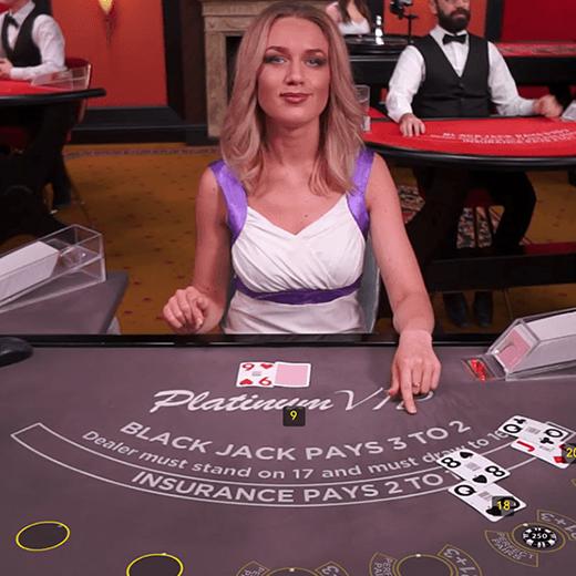VIP Live Blackjack image
