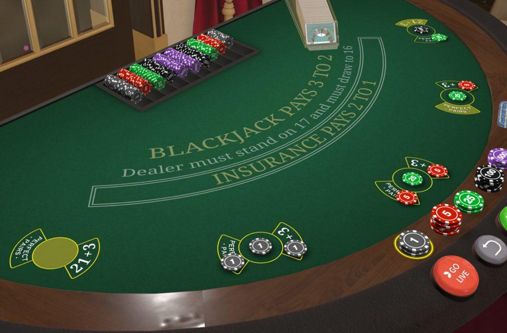 VIP Live Blackjack tafel