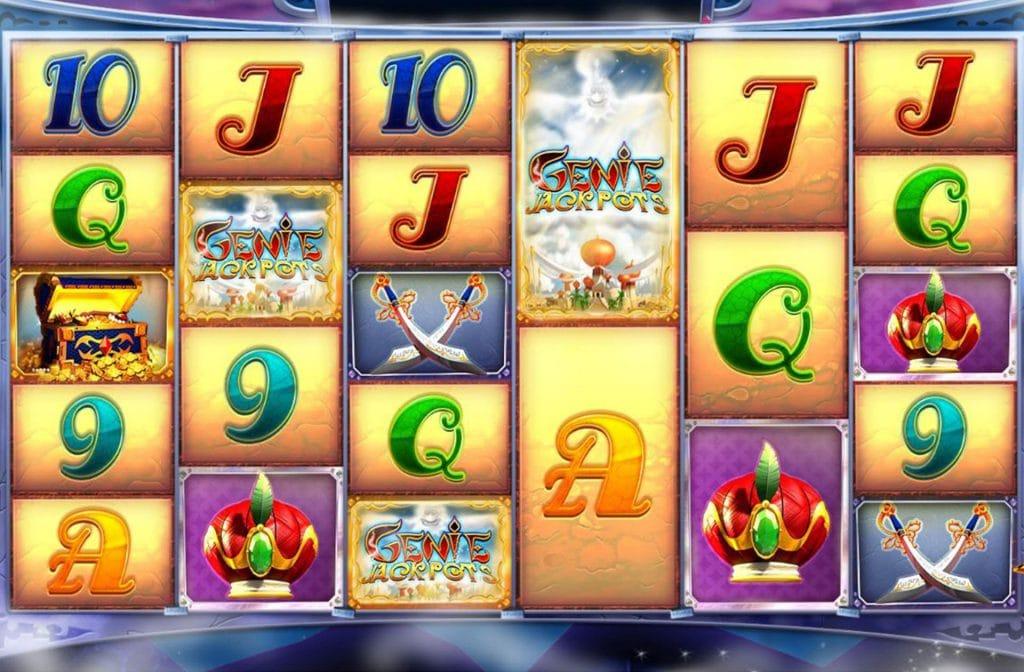 3 Genie Jackpots geeft bonus