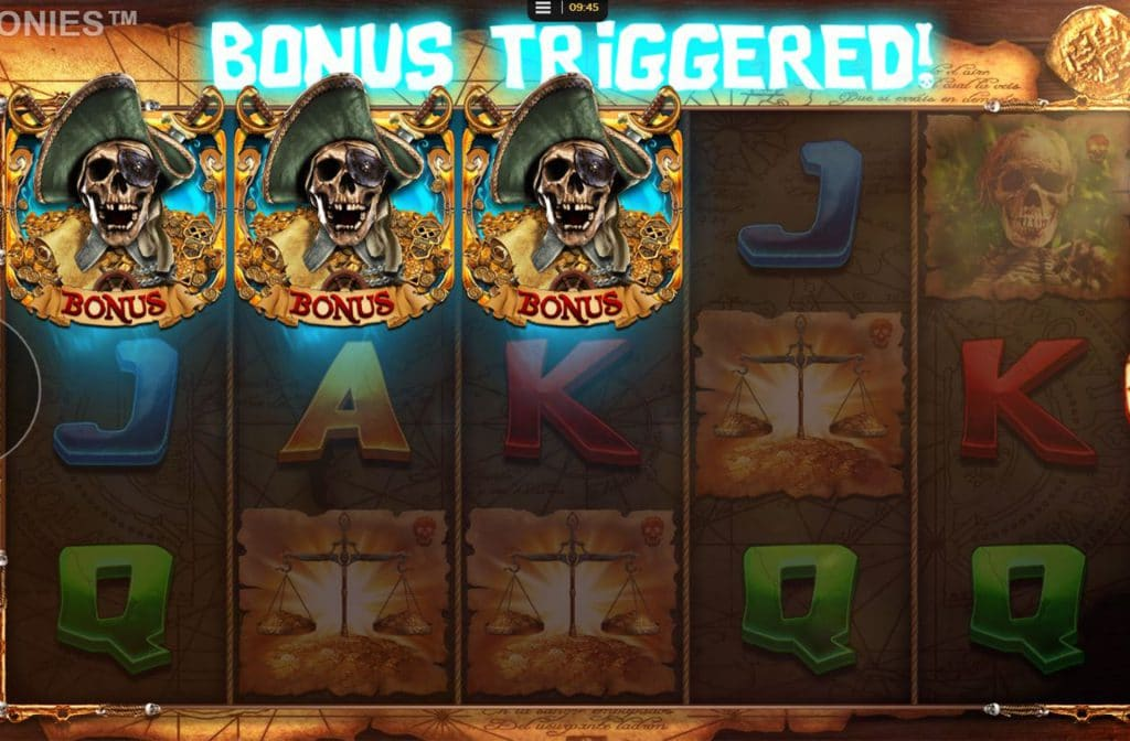 Bonus Triggered