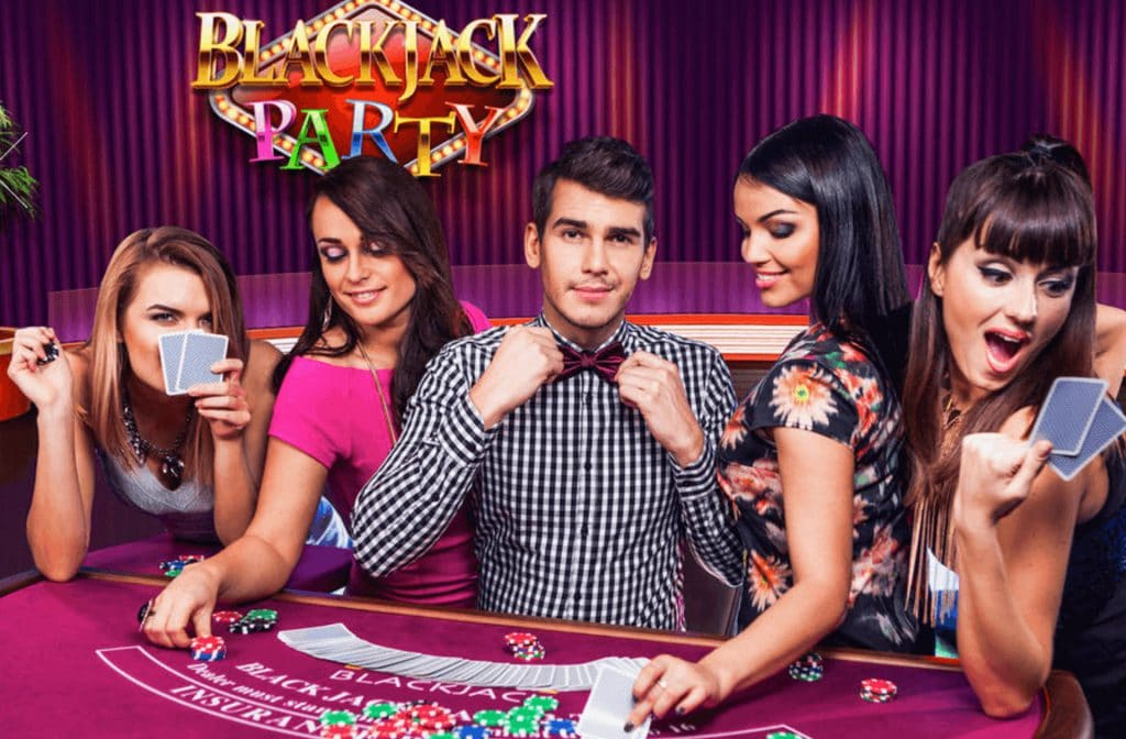 Blackjack Party is een feestje
